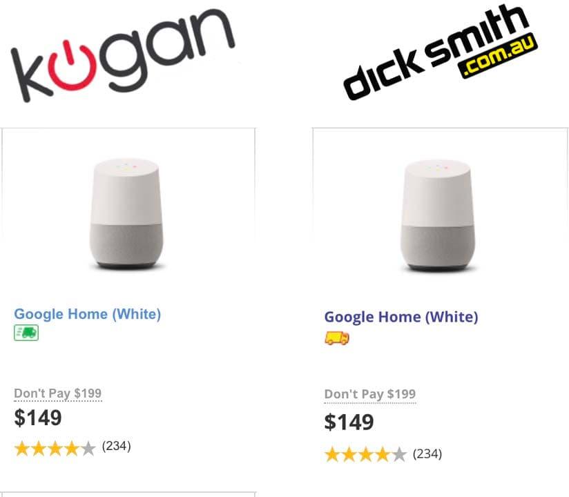 KOGAN DICK SMITH comparisons